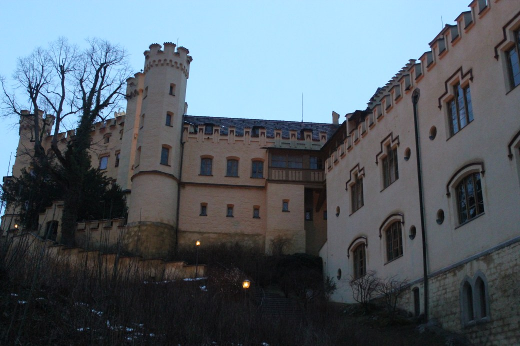 Front of Hohenschwangau Castle; Schwangau, Germany; 2012