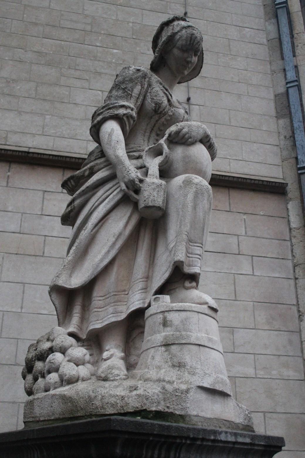 Statue; Brussels, Belgium; 2012