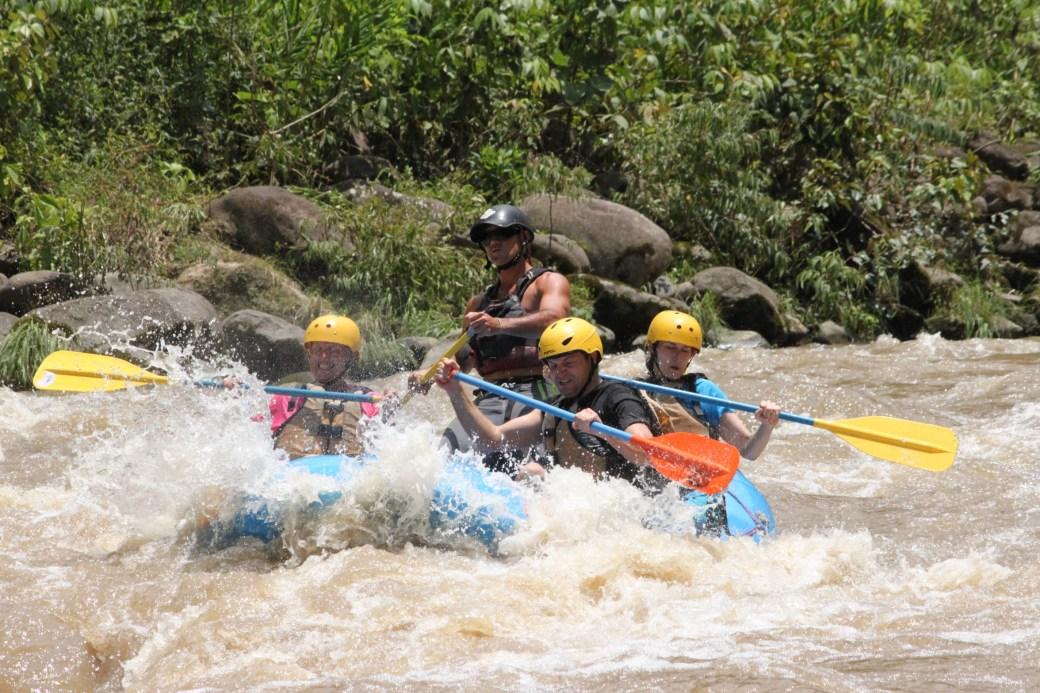 Class IV Rapids; Costa Rica; 2013