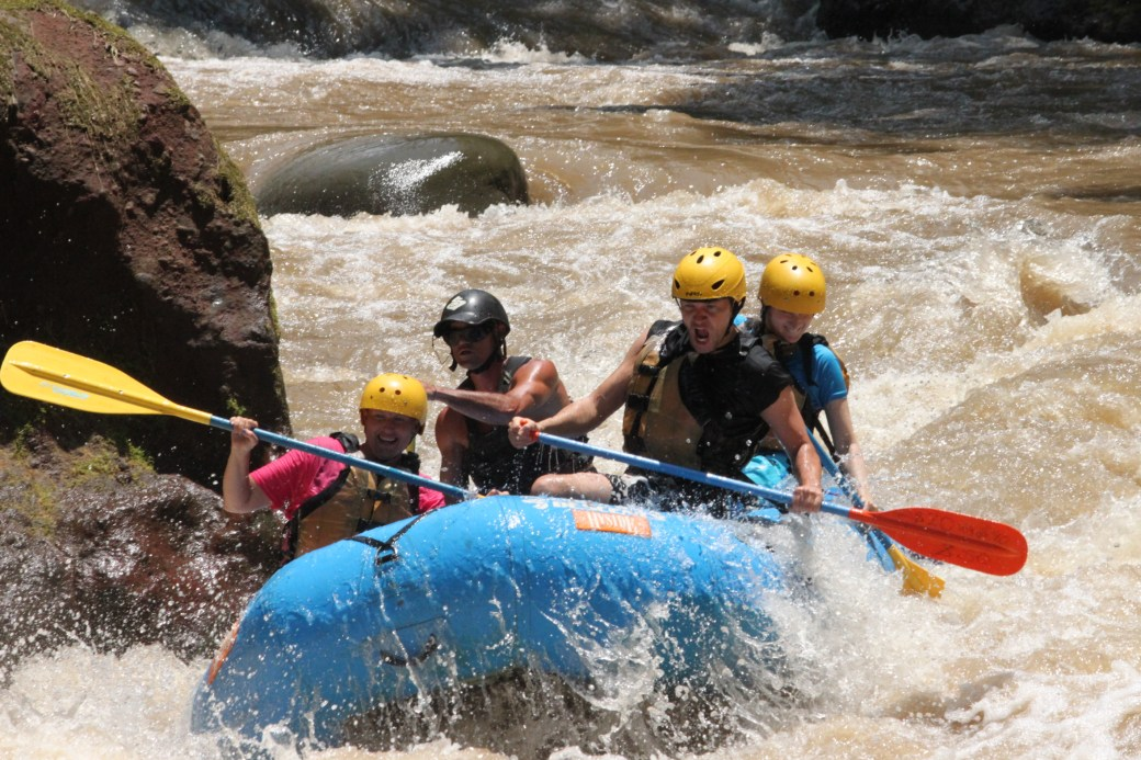 White Water Rafting; Costa Rica; 2013