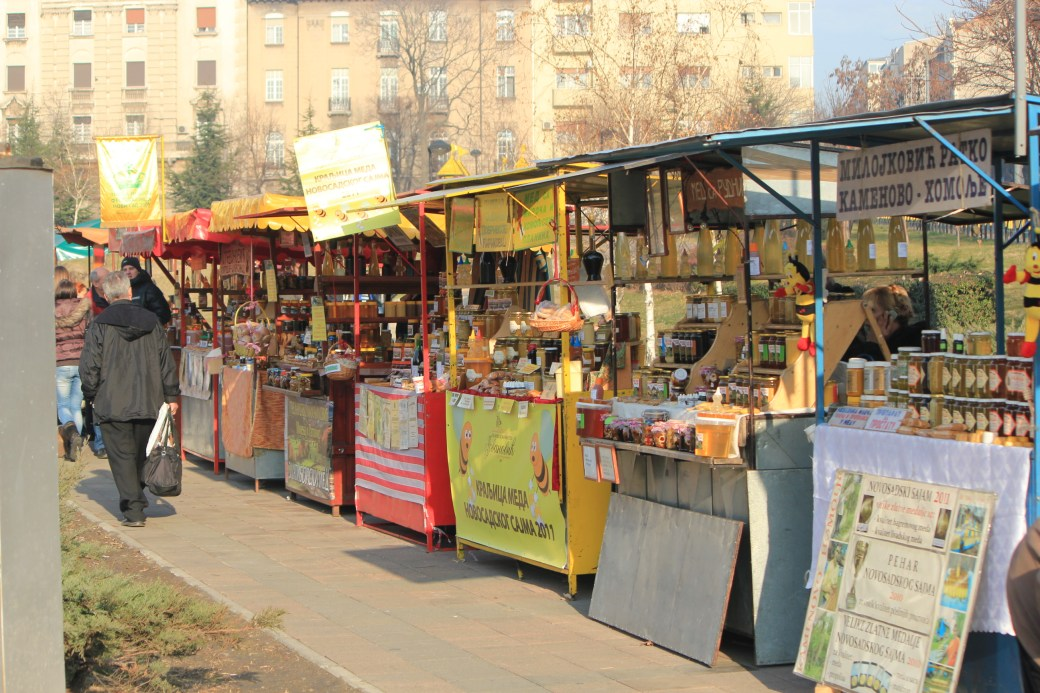 Honey Market; Belgrade, Serbia; 2011
