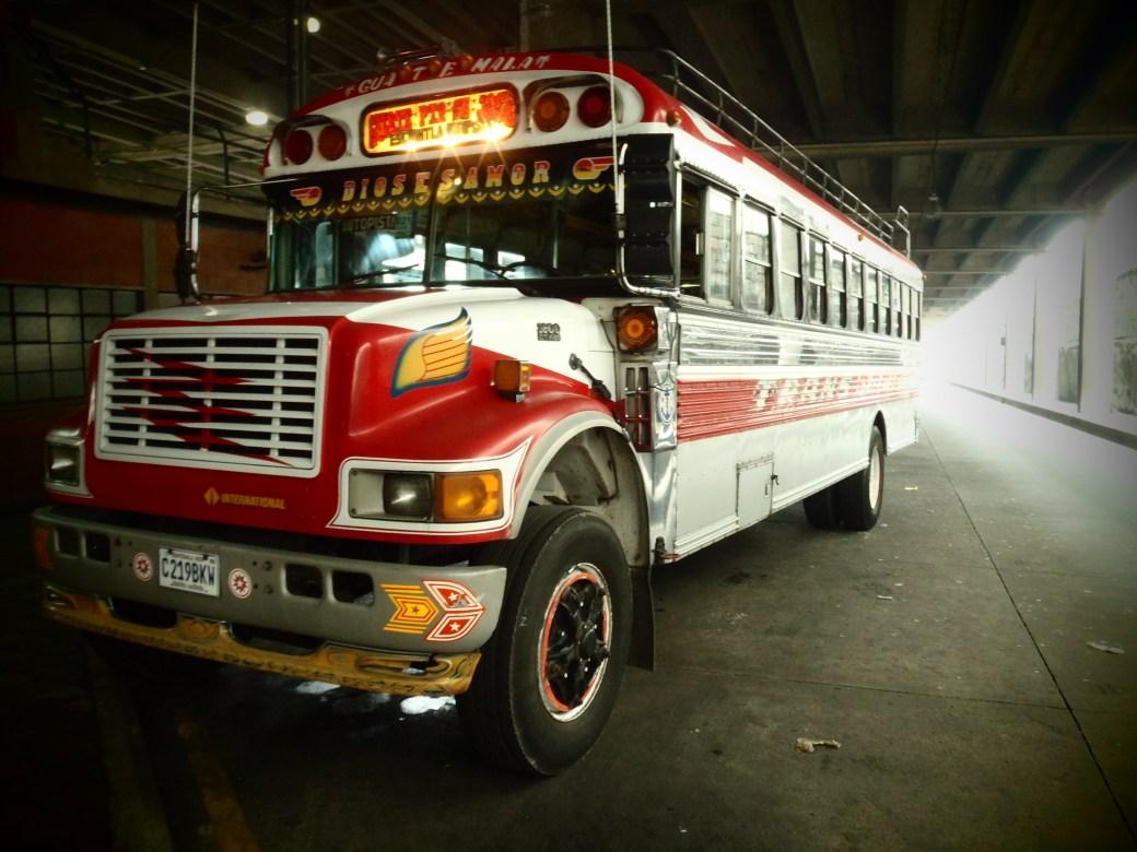 Chicken Bus; Guatemala City, Guatemala; 2013