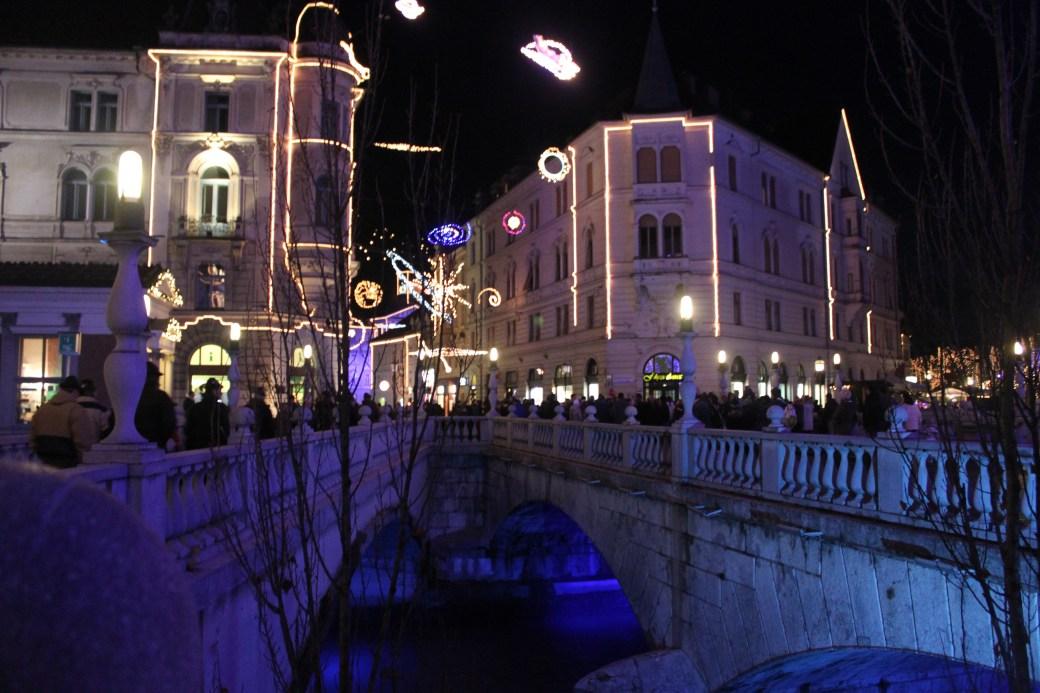 Christmas Lights; Ljubljana, Slovenia; 2011