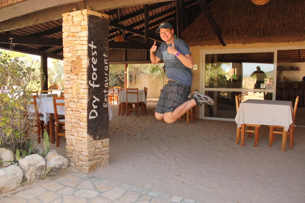 Signature Jumpin' Photograph (Restaurant); Toliara, Republic of Madagascar; 2013