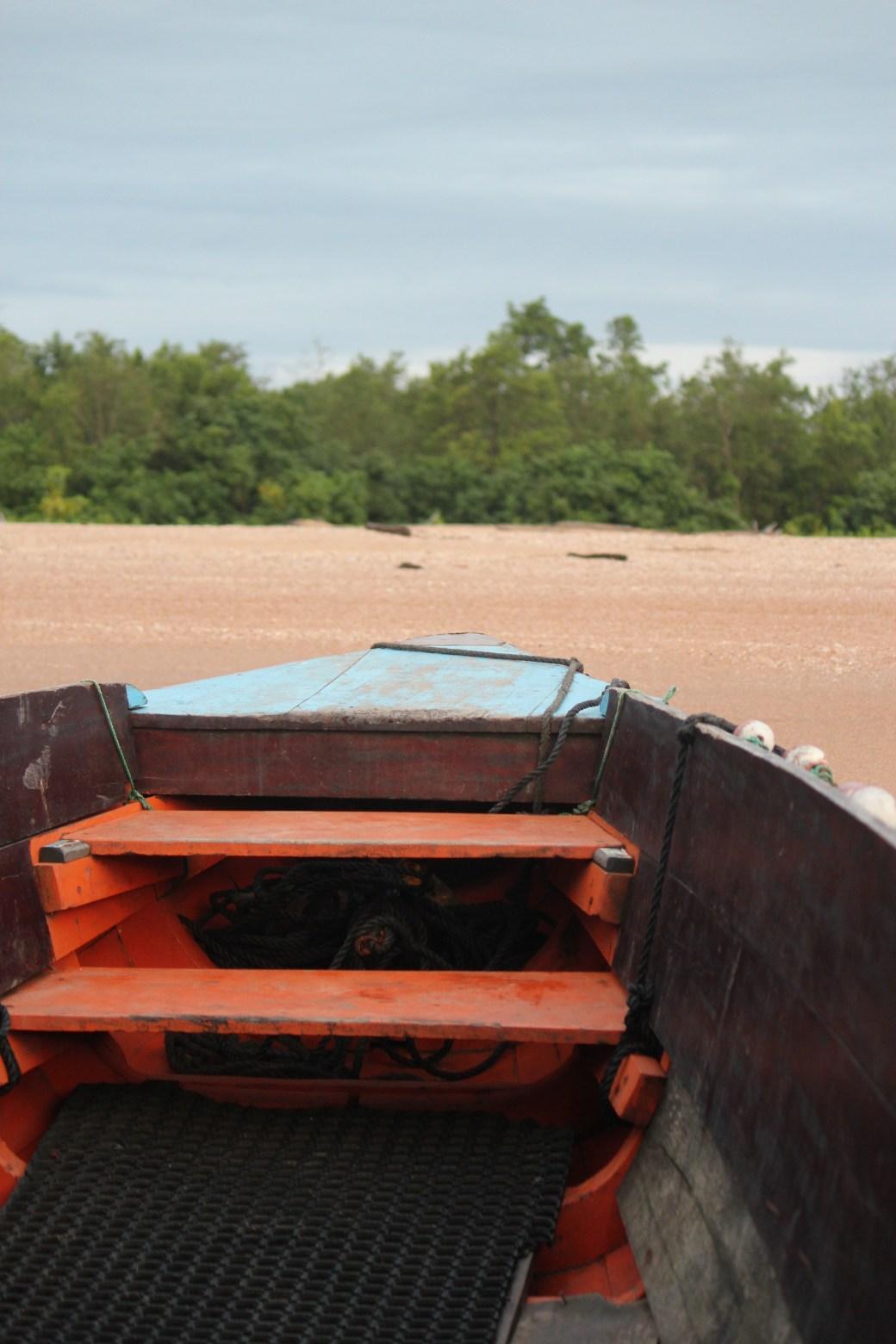 Boat Ride; Paramibo, Suriname; 2013