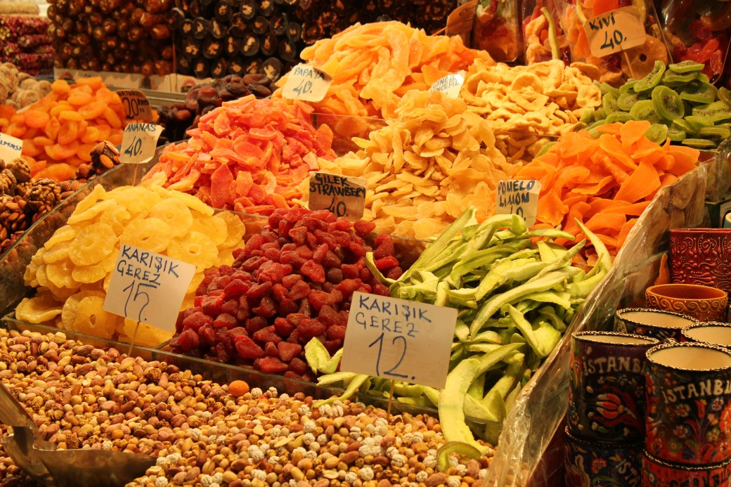 Dried Fruits; Istanbul, Turkey; 2013