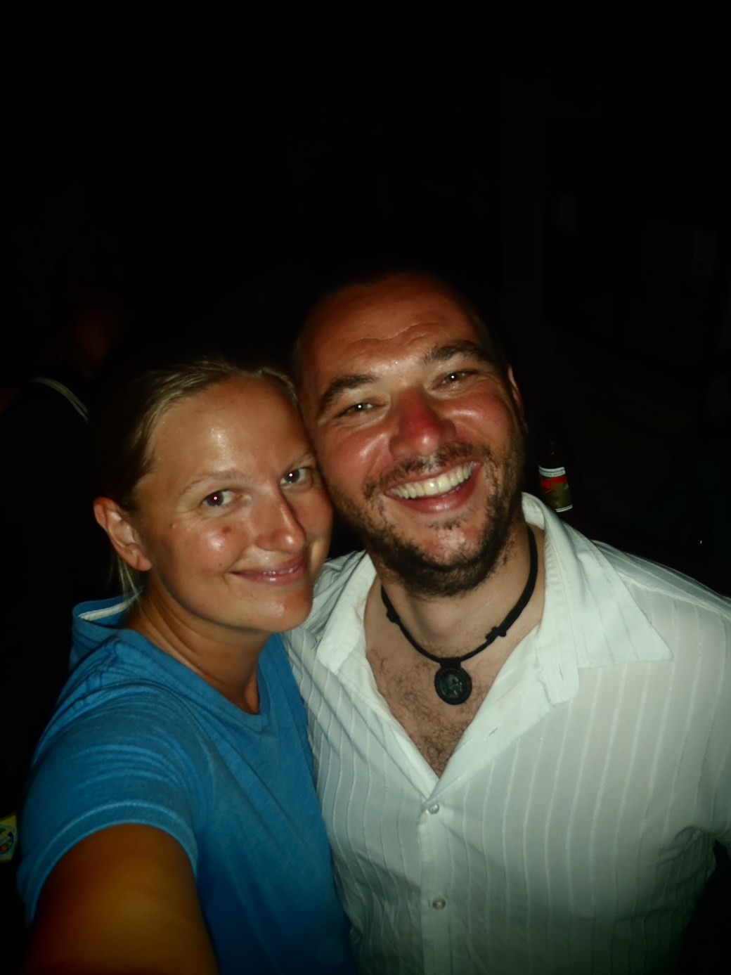 Craig and I; Stone Town, Zanzibar, Tanzania; 2011