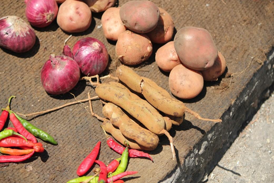 Local Vegetables; Stone Town (Malindi Market), Zanzibar, Tanzania; 2011