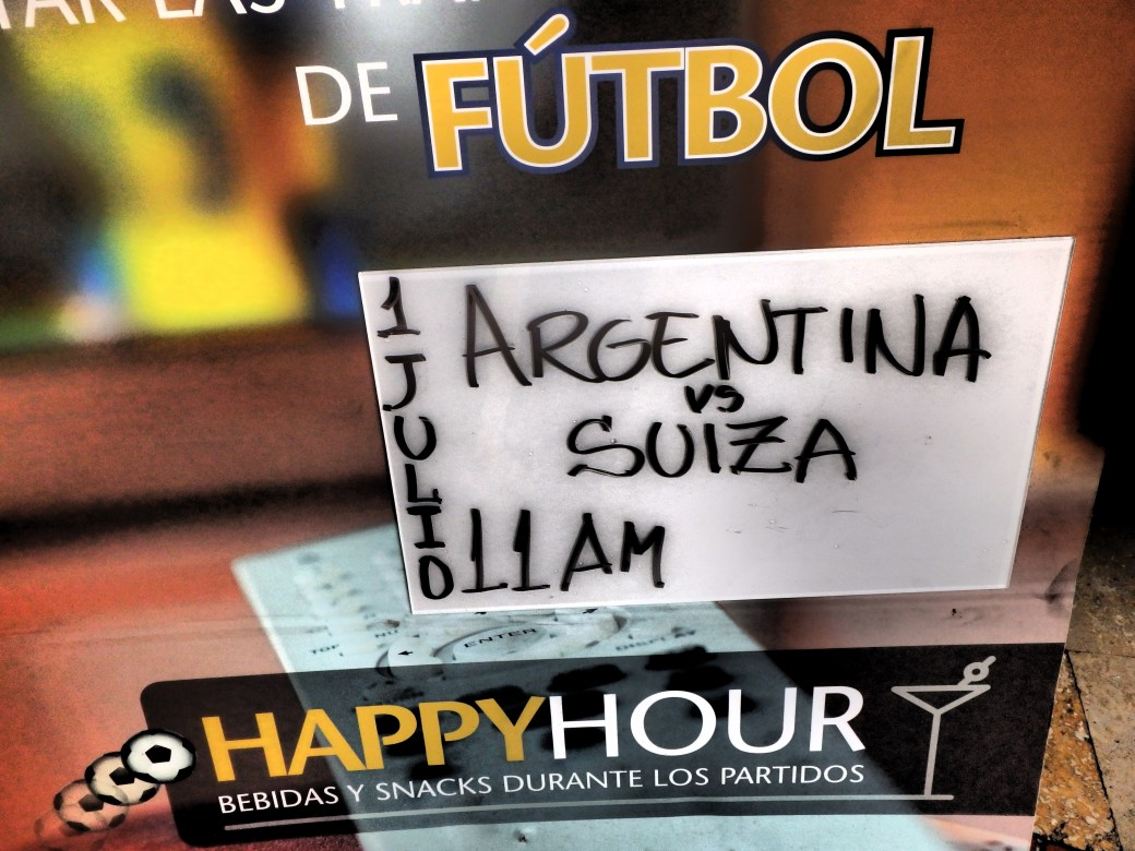 Happy Hour with Argentina; Santa Marta, Colombia; 2014