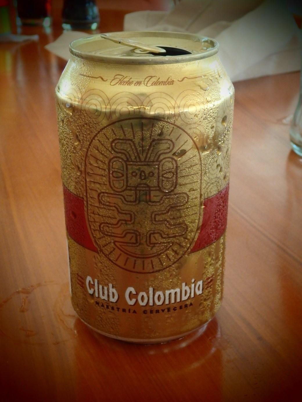 Club Colombia Local Beer; Santa Marta, Colombia; 2014