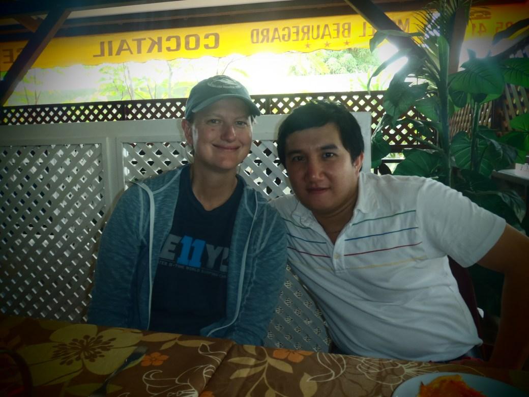 Erwin and I; Cayenne, French Guiana; 2012