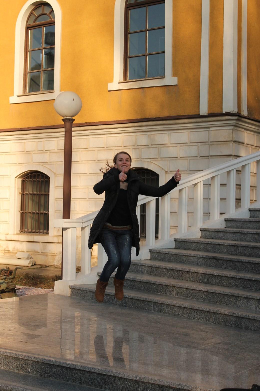 Aferdita Signature Jumpin' Photograph; Pristina, Kosovo; 2013