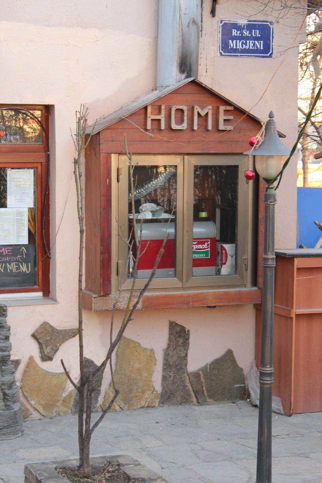 Home Restaurant; Pristina, Kosovo; 2013