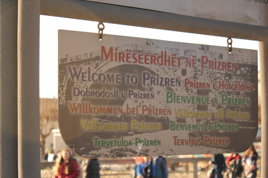 Welcome to Prizren; Prizren, Kosovo; 2013