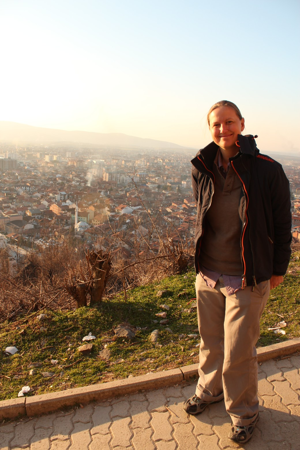 Selfie with City View; Prizren, Kosovo; 2013