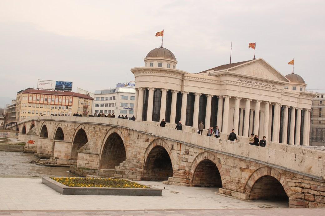 Bridge; Skopje, Republic of Macedonia; 2013