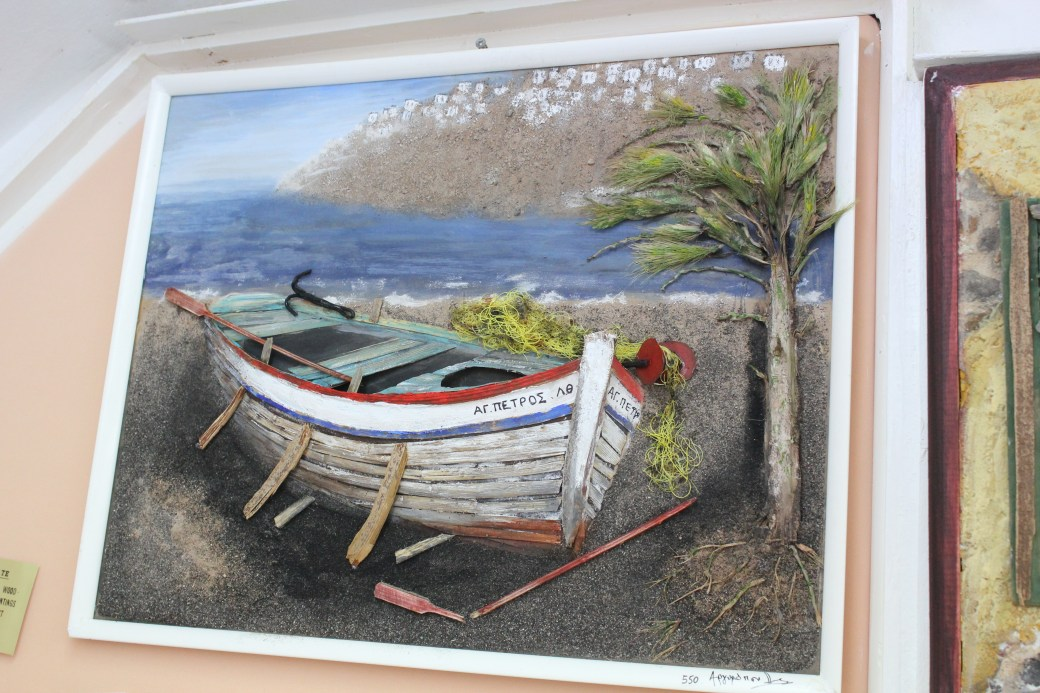3D Painting; Santorini Island, Greece; 2013