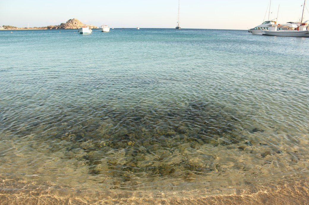 Clear Water; Mykonos Island, Greece; 2013