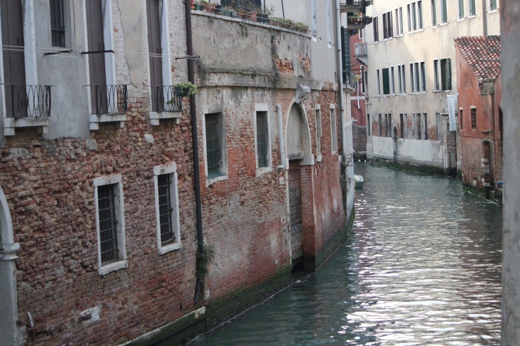 Flowing Water; Venice, Italy; 2011