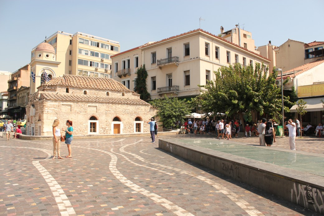 Center Square; Athens, Greece; 2013