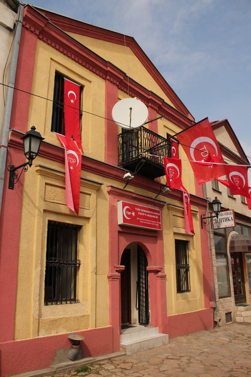 Turkish Flag; Skopje, Republic of Macedonia; 2013