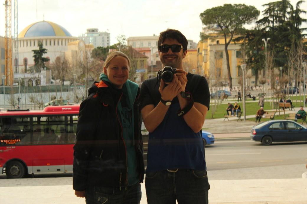 Me & Eduardo; Tirana, Albania; 2013