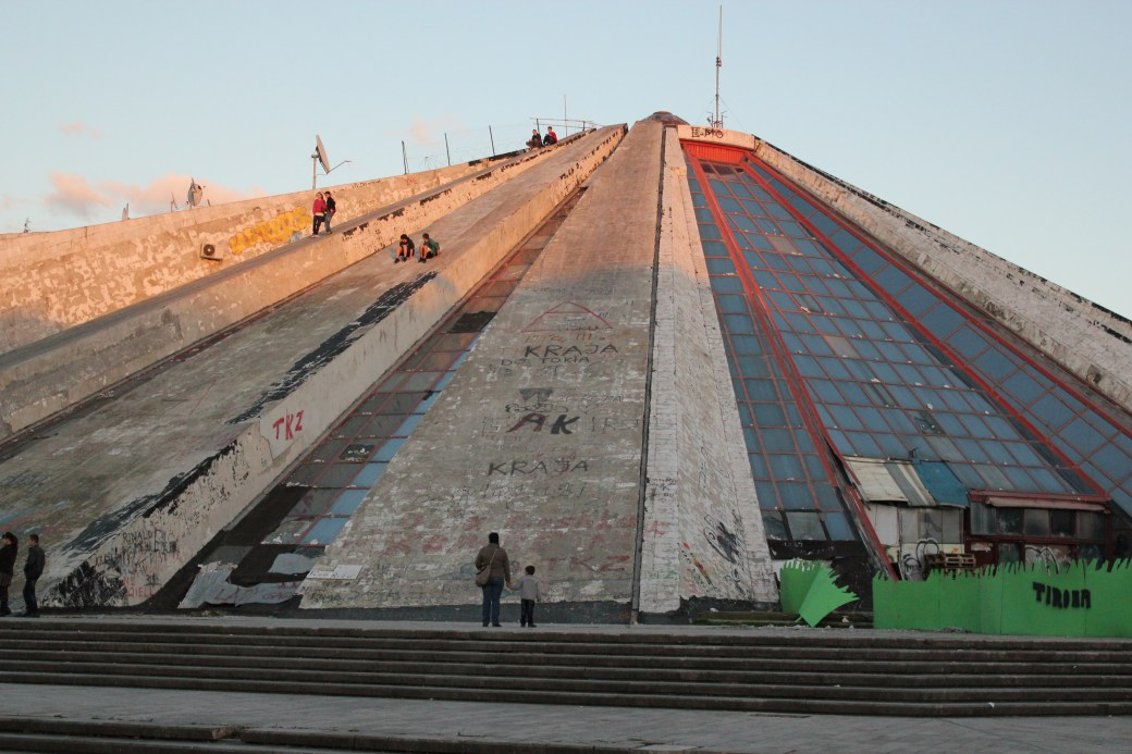 The Pyramid; Tirana, Albania; 2013