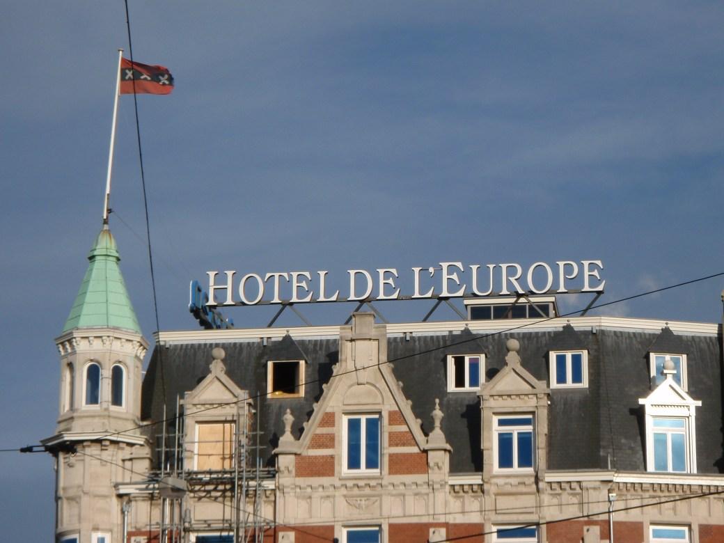 Hotel De L'Europe; Amsterdam, Netherlands; 2010