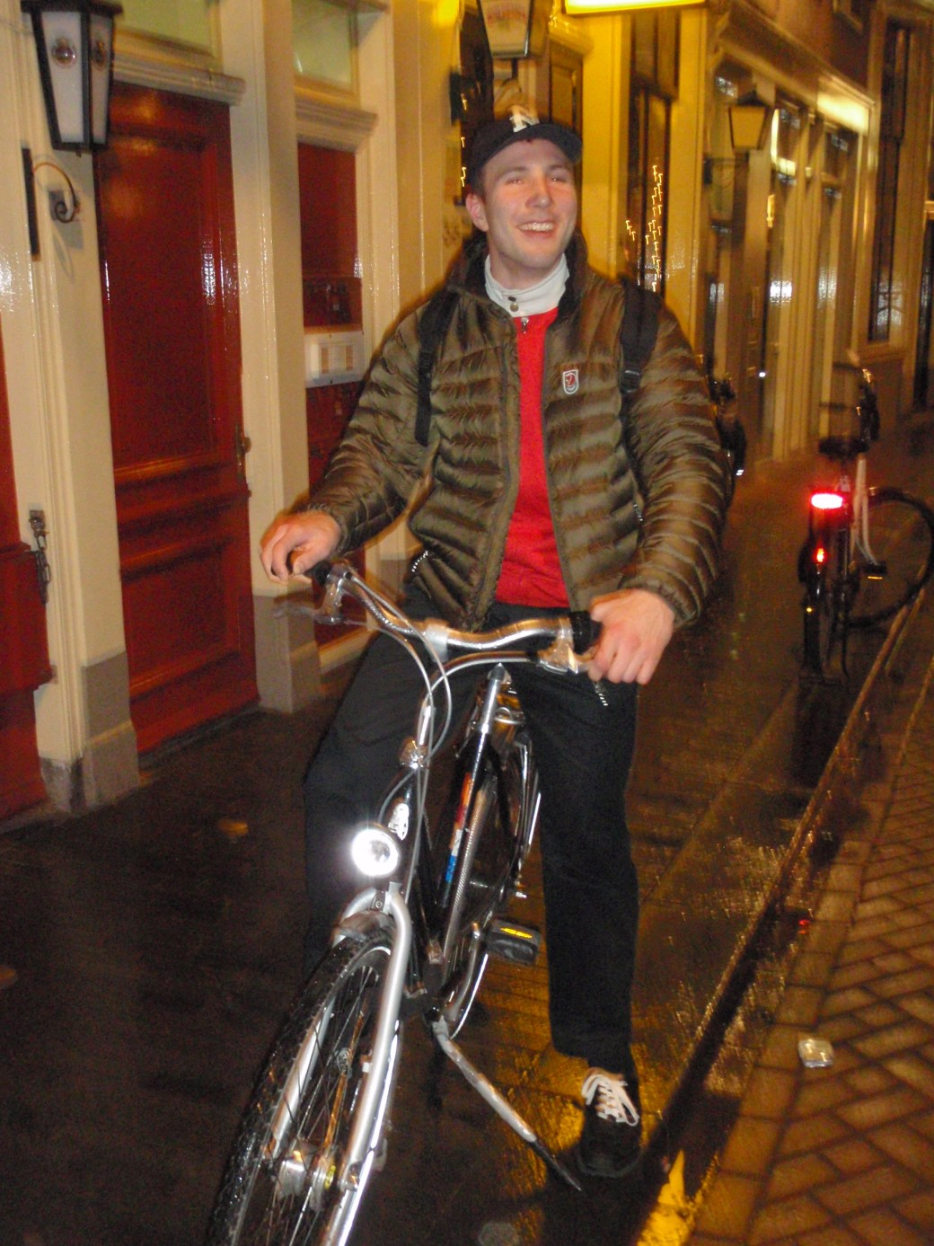 Second Cute Dutchman with Bike; Amsterdam, Netherlands; 2010