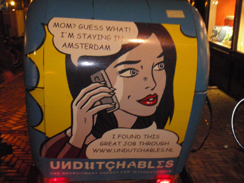 Undutchablis Vehicle; Amsterdam, Netherlands; 2010