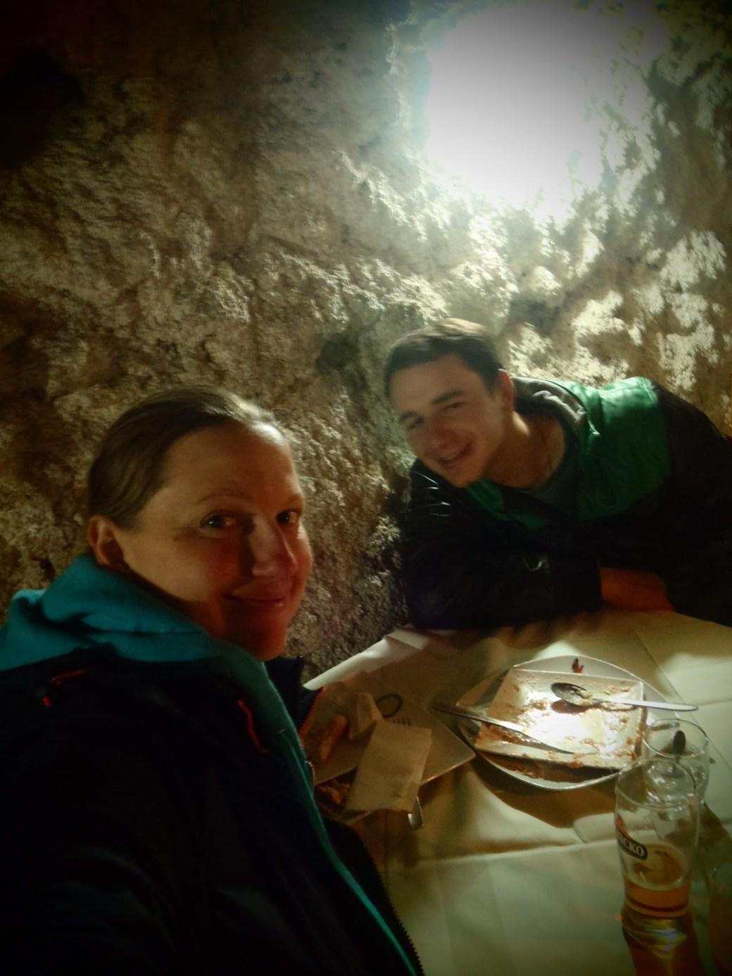 Cave Restaurant; Matka, Republic of Macedonia; 2013