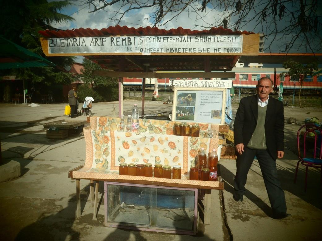 Beekeeper; Tirana, Albania; 2013