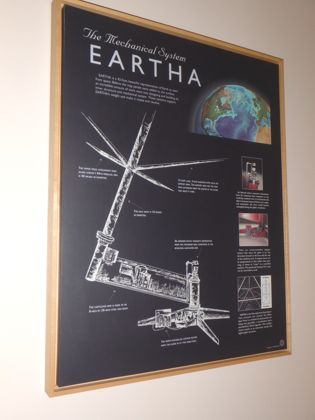 Eartha Rotation; Yarmouth, ME; 2015