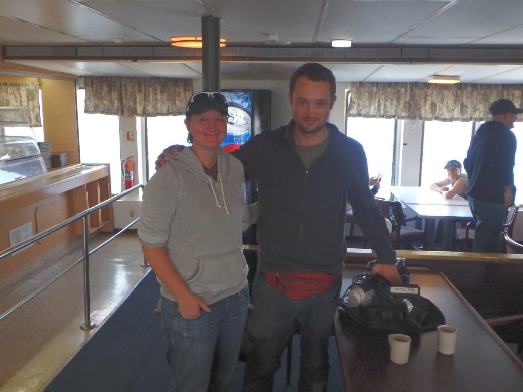 Jessica & Tyson Hepburn; Apollo Ferry, Canada; 2015