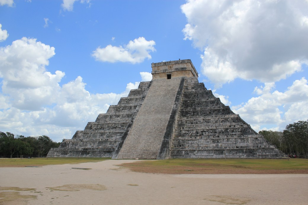 Perfect Day; Chichen Itza, Mexico; 2012