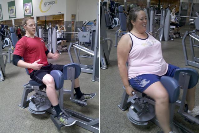 Good girl chair gym