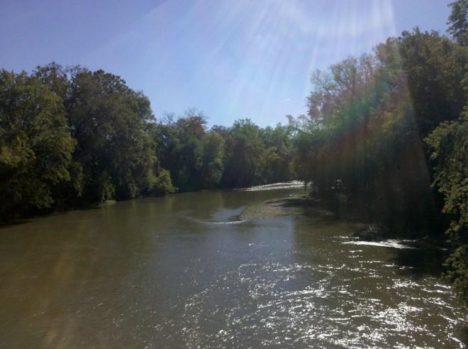 Walhonding River Coshocton Ohio