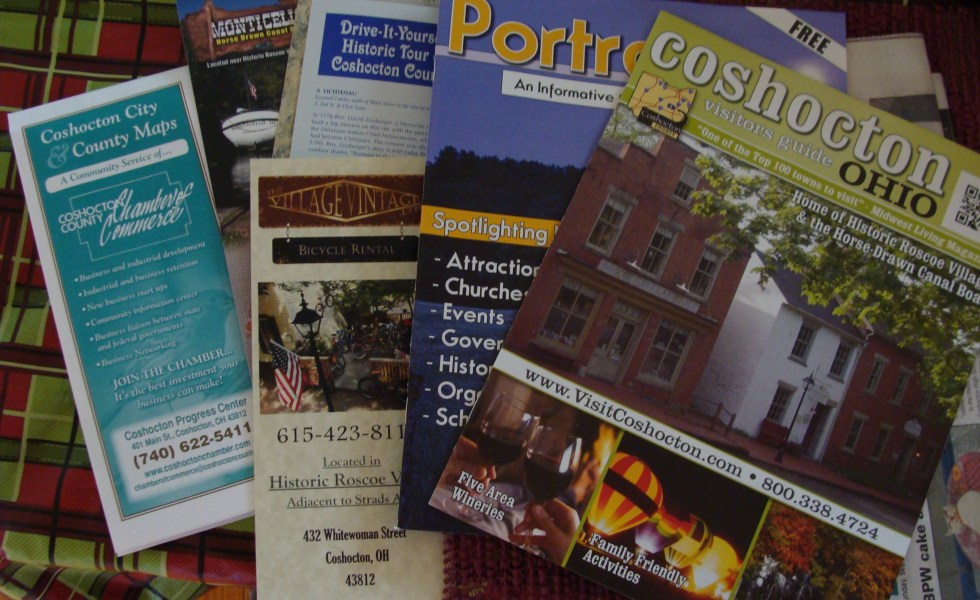 Coshocton Ohio brochures