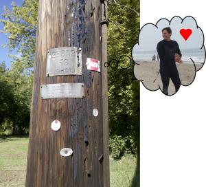 AEP utility pole Kurt