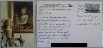 Postcard history inspiration