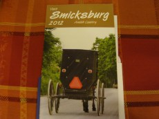 My grandparents lived near Smicksburg all their lives so I grew up not seeing Amish country as a tourist area, but just buggies to drive around, good carpenters for hire and cool-looking haystacks...