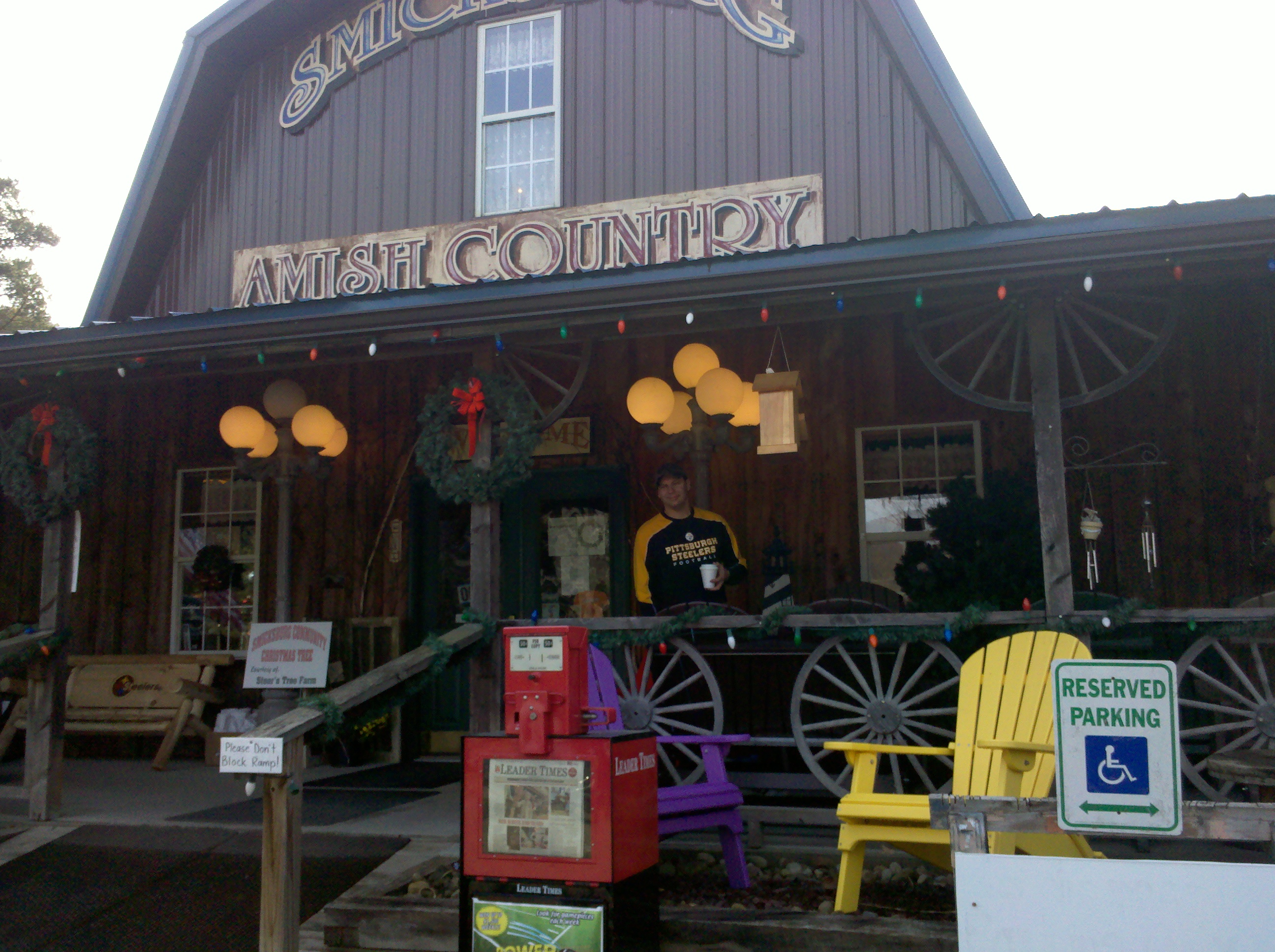 Smicksburg PA Amish Country store Cookie Tour - MarLa Sink ...
