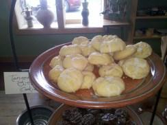 Tangerine Butter Cookies recipe
