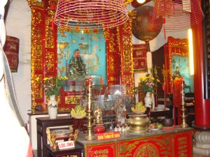 Hoi An Viet Nam prayer coil altar