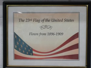 Annin Flag Factory Tour Traveling Marla Coshocton Ohio American flag 23rd flag 1896