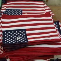 Annin Flag Factory Tour Traveling Marla Coshocton Ohio American flag Ohio flag Annin flag