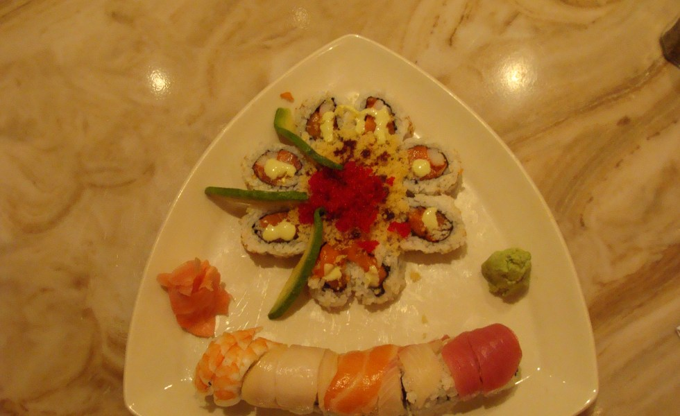 Valentine and Rainbow Roll Sakka Blue in Madison Indiana