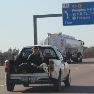 expat life Pretoria South Africa highway