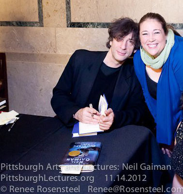 Neil Gaiman fan photo