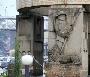 Arat Kilo postwar monument Ethiopia